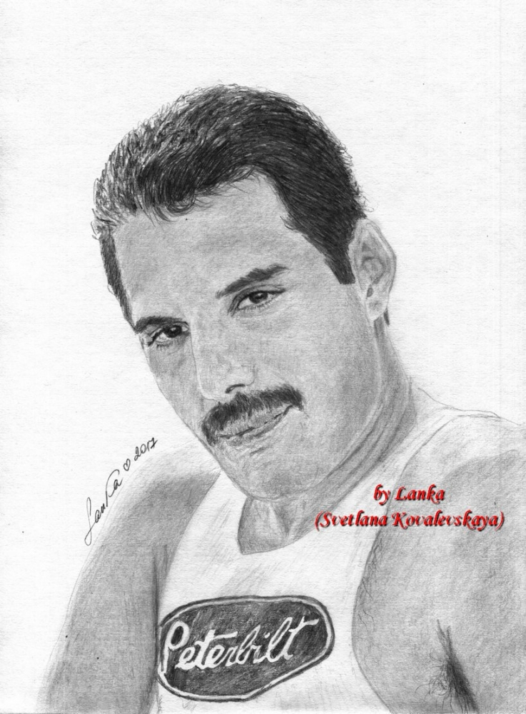Freddie Mercury by Lanka